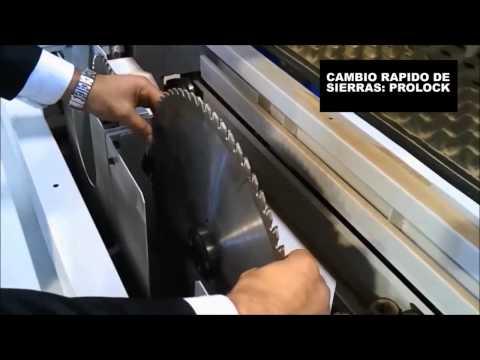 Seccionadora Horizontal CNC Marzica Quadra 320 y Quadra 380