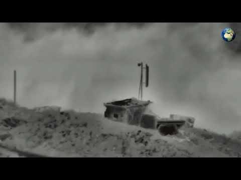 Видео удара Израиля по позициям армии Сирии - DomaVideo.Ru