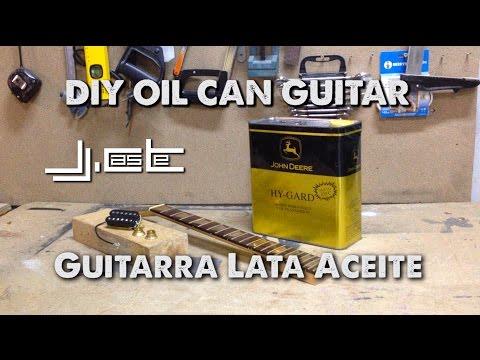 Video DIY Oil Can Guitar Part1 (Construcción Guitarra con lata de aceite) download in MP3, 3GP, MP4, WEBM, AVI, FLV January 2017