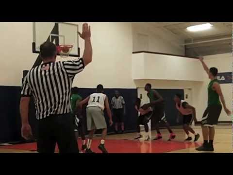 GMC Hoops Highlights–October 18, 2012–East Brunswick vs St. Patrick's–ECC Fall League