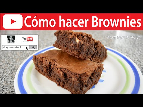 BROWNIES | Vicky Receta Facil