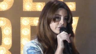 Lana Del Rey VIDEO GAMES Live @ Shoreline Amphitheater Mountain View 5/20/2015