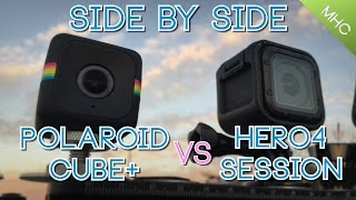 Video Polaroid Cube+ vs GoPro Hero4 Session: Everything Covered MP3, 3GP, MP4, WEBM, AVI, FLV Februari 2019