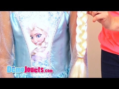 (JOUET) Déguisement Elsa La Reine des Neiges Disney - Rubies -Démo Jouets