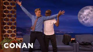 JB Smoove & Conan Dance The Tango  - CONAN on TBS