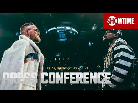 Mayweather v McGregor: New York press conference