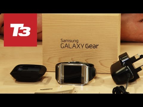 Samsung Galaxy Gear unboxing video