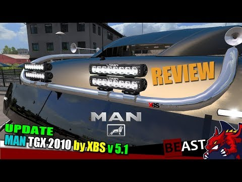 MAN TGX 2010 v5.1 by XBS