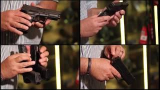 8. Pistolas HS calibre 9, 40 y 45