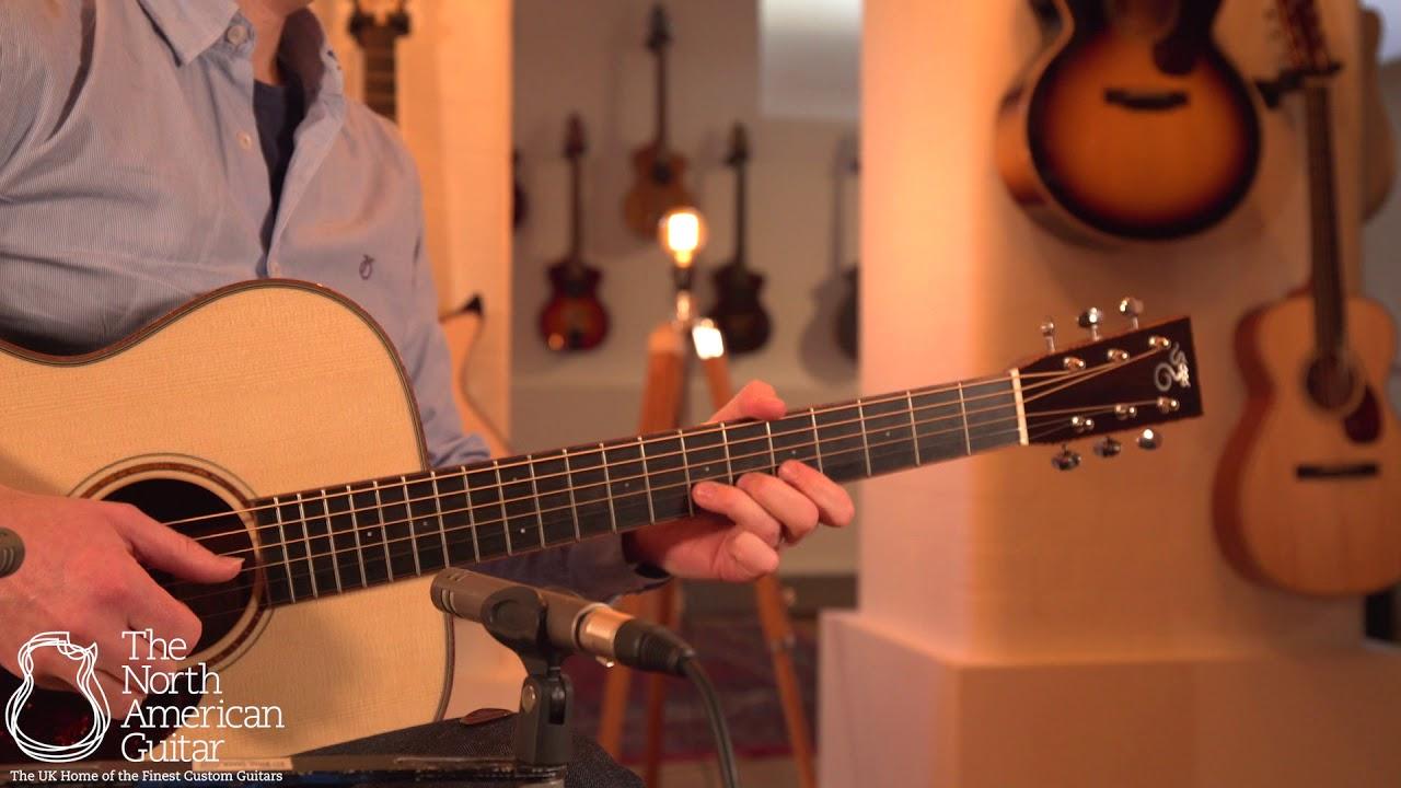 Santa Cruz Guitar Co. OM Custom Acoustic Guitar Played By Stuart Ryan (Part Two)