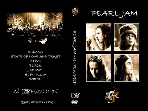 Pearl Jam - Ten  Mtv Unplugged (1992) - Dvdrip