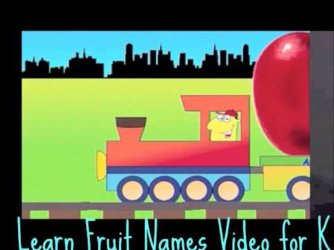 learn fruit names - hi, today i'll share about ◅ Learn Fruit Names Video for Kids ▻ video. This video will teach your kids about fruits. Information : Video Title : Learn Fruit ...
