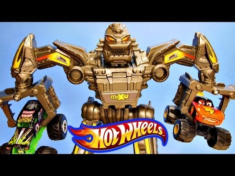 Hot Wheels Maximum Destruction Battle Pixar Cars Toon Monster Truck Frightening McMean Grave Digger