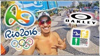 Fui curtir as Olimpíadas Rio 2016 a convite da Oakley
