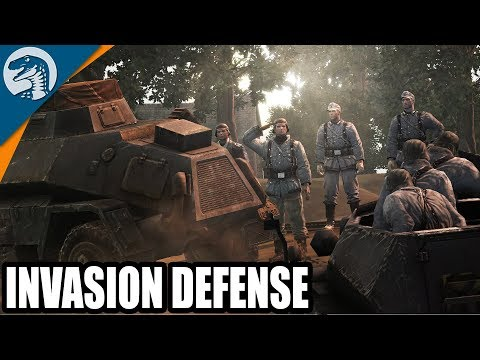 Historic 1944 Invasion Defense of Netherlands | Company of Heroes: Opposing Fronts Gameplay