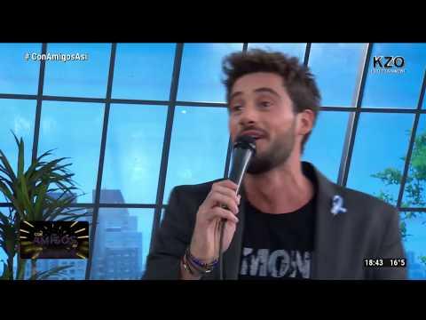 Frases de amigos - Nico Occhiato les levanta el ego a los integrantes de Con amigos así