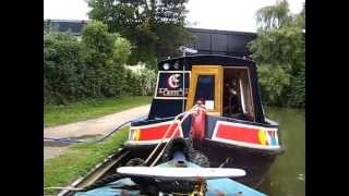 Time-lapse Narrowboat Journey On The Oxford Canal