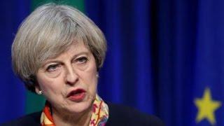 Премьер-министр Великобритании официально подтвердила, что будет инициировать выход страны из ЕС