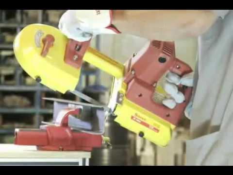 sierra de sinta sin fin - La máquina de sierra de cinta sin fin portátil S1010 de STARRETT sirve para cortar metales, maderas y otros materiales. Con una capacidad de corte de hasta 1...