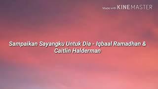 Official lyrics video lagu