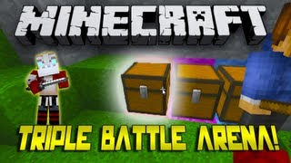 DIAMONDS IN 3 MINUTES! Triple Battle Arena w/Nooch, Mitch,&Woofless! Game 2