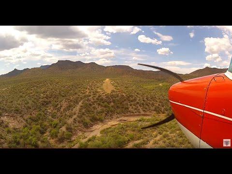 Challenging Arizona Airstrips - Landing Red Creek Airstrip