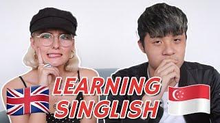 Video BRITISH LEARNS TO SPEAK SINGLISH! MP3, 3GP, MP4, WEBM, AVI, FLV Maret 2019