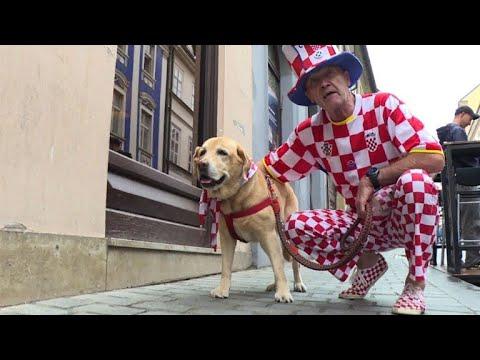 In Croatia, fans eagerly await World Cup semi-final