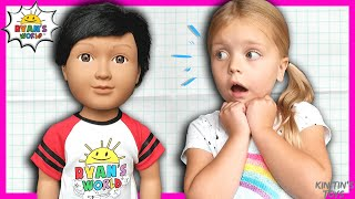 Kin Tin Plays Hide and Seek with My Life As Ryan ToysReview Doll! (skit)