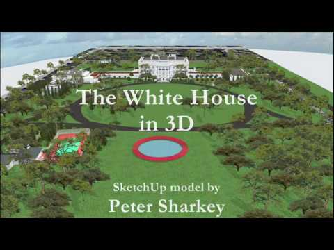 White House - A video animation of Peter Sharkey's 3D White House, hosted by WhiteHouseMuseum.org, with narration.