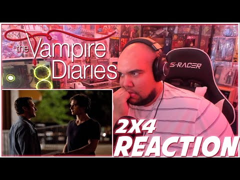 WHY CANT DAMON LEAVE IT ALONE! | The Vampire Diaries 2x4 REACTION | Season 2 Episode 4