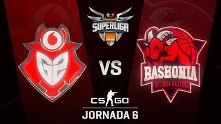 G2 VODAFONE VS THUNDERX3 BASKONIA - MAPA 2 - SUPERLIGA ORANGE - #SUPERLIGAORANGECSGO6