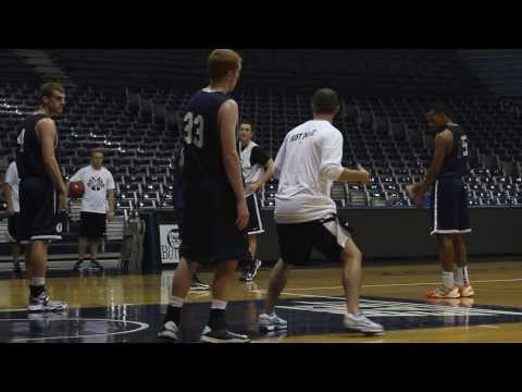 2013-14 Men's Basketball First Practice