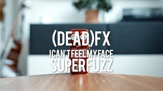 """My demo of the (DEAD) fx - I Can't Feel My Face Super-Fuzz V!*this is a sponsored demo*davidevansaudio.com/deadfx""""NEW ON THE V2 of the I can't feel my Face SUPER-FUZZ-1. Mid scoop potentiometer tone control.2. Clip (diode biasing) potentiometer control.3. Soft touch foot switch with MCU and relay controlled True Bypass switching. I have added some clever programming which allows for both latching mode and momentary modes on the same foot switch. Simply press once and release for latching turn on and off. Or press and hold for more than ~1s to automatically be in momentary mode in which once released the pedal will turn back off (bypassed). The same applies for a momentary bypass (play with the fuzz on, press and hold for bypass clean tone, and release to go back to your fuzz tone).""""""""A favorite among vintage fuzz lovers, the Univox Super-Fuzz is known for it's thick massive square-wave fuzz tones via Germanium diode clipping and a rectification circuit that adds a bit of upper octave and lower octave into your signal. While the original circuit earned it's due recognition as an incredible sounding fuzz, there have always been some aspects of the circuit that I found a bit frustrating and lacking in some respects. I went about trying to fix these issues in my own Super-Fuzz pedal and what resulted was something I felt I needed to make available in the DEADfx line of pedals, I call it the """"I can't feel my Face"""" SUPER-FUZZ.""""Guitar: Fano PX6Amp. Tone King 20th Anniversary ImperialCables: Toaster Cables - http://www.toastercables.com/Patch cables: Mulder Audio - http://www.mulderaudio.com/Contact: livingroomgear@gmail.comhttps://www.facebook.com/livingroomgearhttps://twitter.com/livingroomgearhttp://instagram.com/livingroomgearhttp://ask.fm/livingroomgearhttp://livingroomgeardemos.tumblr.com"""