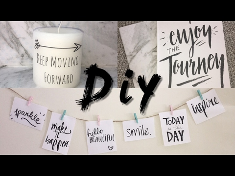 Diy Projects with quotes  Quote Room Decor and Quote NotebooksInspirational QuotesTumblr inspired
