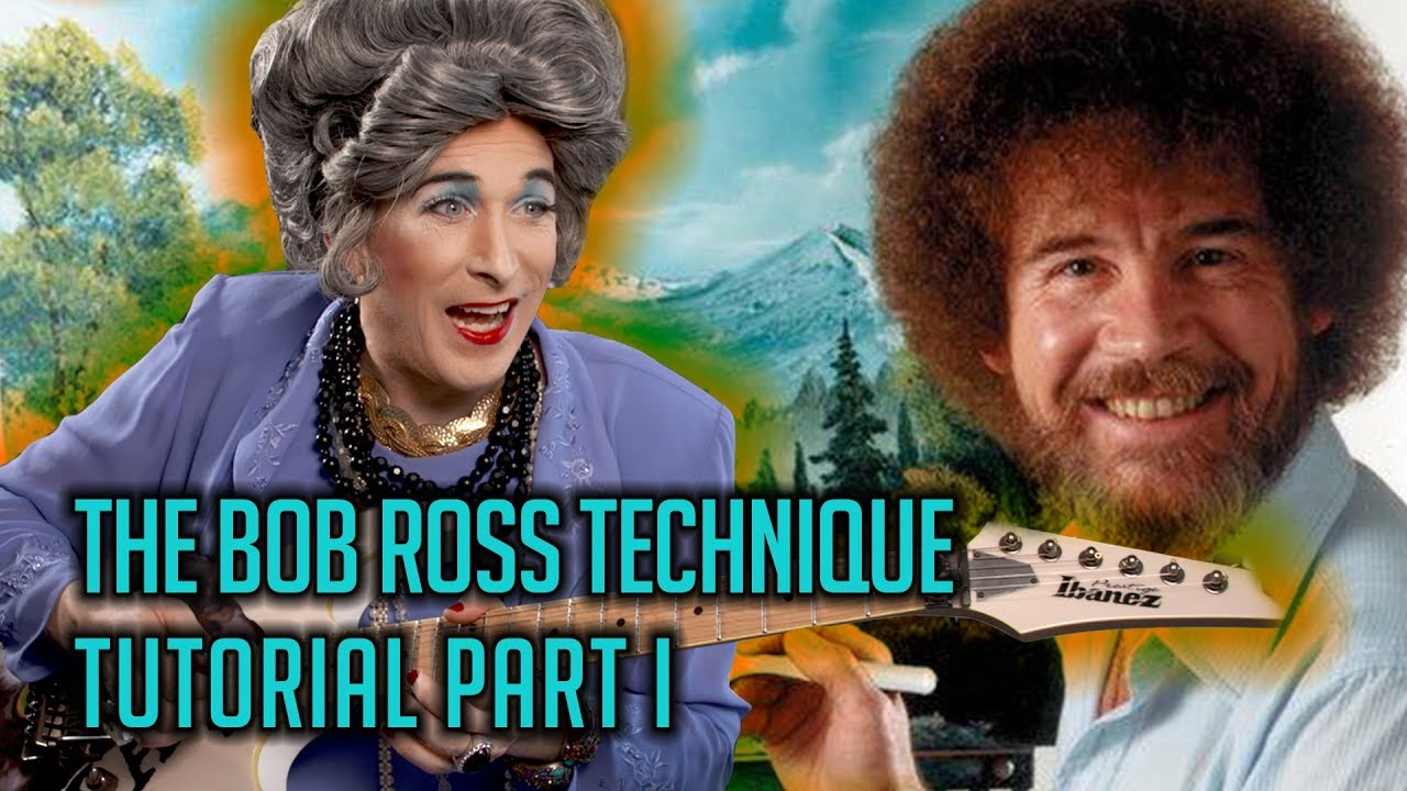 Mrs. Smith—The Bob Ross Technique Guitar Tutorial Part I