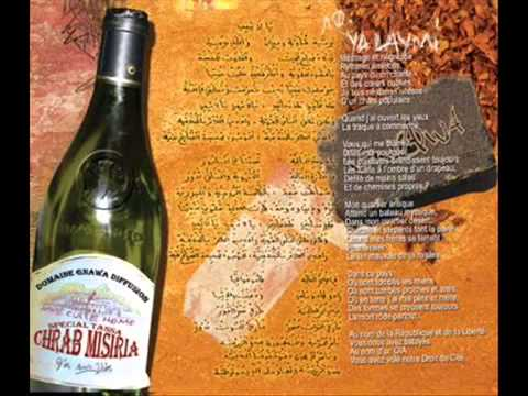 Gnawa Diffusion - Ya Laymi - Amazigh Kateb (Lyrics)