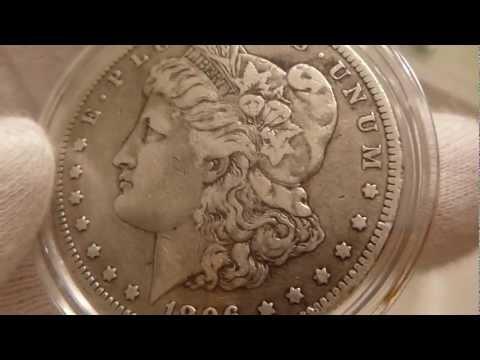 1896 O Morgan Silver Dollar Coin Review