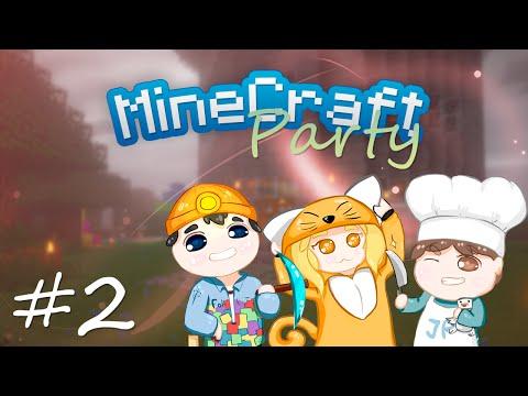 MineCraft Party | Пещера и все дела... #2