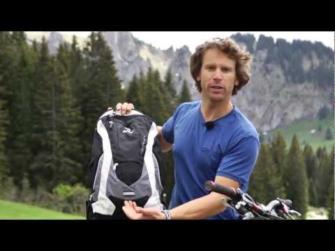 Видео о Велосипедный рюкзак Deuter SUPERBIKE 18 EXP black-granite