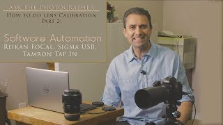 Ask the Photographer: How to do Lens Calibration  Part 2: Software Automation  Calibrating focus on your lenses via microadjustment can make a huge difference in their performance, but it can also be overwhelming.  This episode focuses on how to use the Reikan FoCal software to automate the process of microadjustment.  This episode also deals with how to use this in conjunction with the Tamron Tap In Console or Sigma USB dock. Visit Reikan: https://www.reikanfocal.com/  Sigma USB Dock: https://bhpho.to/2pYmaEP  Tamron Tap-In Console:  https://bhpho.to/2qWalPR   FoCal software and test targets: https://bhpho.to/2sfvsk3  My Patreon: https://www.patreon.com/dustinabbott  Zhiyun Crane - USA: https://bhpho.to/2gDJhnC   Check me out on:  Personal Website:  http://dustinabbott.net/   Sign up for my Newsletter: http://bit.ly/1RHvUNp   Google+: http://bit.ly/24PjMzv  Facebook:  http://on.fb.me/1nuUUeH   Twitter:  http://bit.ly/1RyYxIH   Flickr:  http://bit.ly/1UcnC0B   500px:  http://bit.ly/1Sy2Ngu Check me out on:  Personal Website:  http://dustinabbott.net/   Sign up for my Newsletter: http://bit.ly/1RHvUNp   Google+: http://bit.ly/24PjMzv  Facebook:  http://on.fb.me/1nuUUeH   Twitter:  http://bit.ly/1RyYxIH   Flickr:  http://bit.ly/1UcnC0B   500px:  http://bit.ly/1Sy2Ngu Keywords: Lens Calibration, AFMA, Microadjustment, Dustin Abbott, Lens Focus, How To, Tutorial, Calibrate focus, Sigma USB, Tamron Tap In, Reikan FoCal, Test Target, Sharpness, Focus Consistency, AF, Autofocus, Focus Calibration, Video Test,