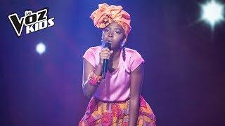 Danna canta Desde El Día En Que Te Fuiste - Audiciones a ciegas   La Voz Kids Colombia 2018