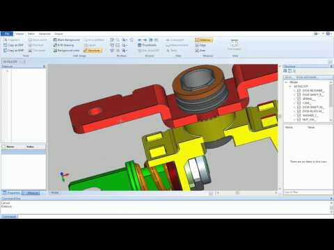 Measuring distance, edge and area in 3D model