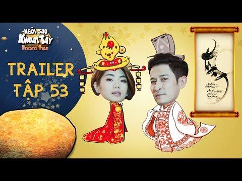 Ngôi sao khoai tây |trailer tập 53: Trần Sơn bị giặc ngoại ban ám sát vì mê thơ không lo triều chính - Thời lượng: 74 giây.