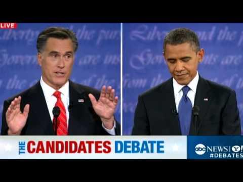 Presidential Debate 2012 on Jobs: Romney Decries 'Economy Tax'; President Obama Defends Record