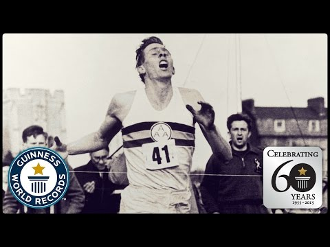I had meningitis as a kid. My neurologist was Dr Roger Bannister. And today marks the 62nd anniversary of the day he became the first in history to break the four minute mile - WATCH!