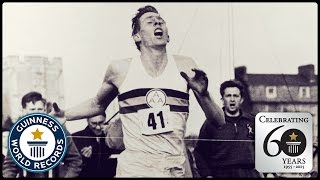 Nonton First Sub-Four Minute Mile - Sir Roger Bannister - Guinness World Records 60th Anniversary Film Subtitle Indonesia Streaming Movie Download