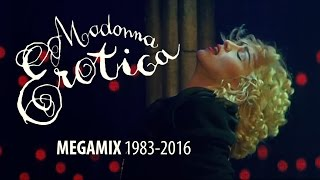 Download Lagu Madonna - Erotica / You Thrill Me MEGAMIX 1983-2016 (music video) Mp3