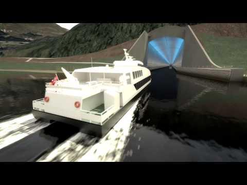 143 שנים אחרי שהרעיון נולד: נורווגיה מתכננת מנהרה ראשונה בעולם לאוניות