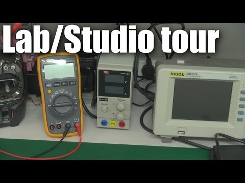 STUDIO - In response to popular demand, here's a quick tour of the RCModelReviews